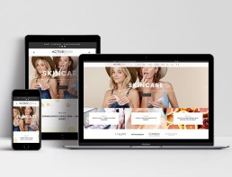 Activeskin Blog Website Design