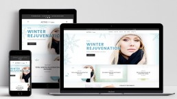 Activeskin Salon Website Design