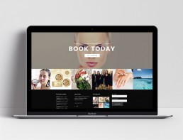 Activeskin Salon Website Design