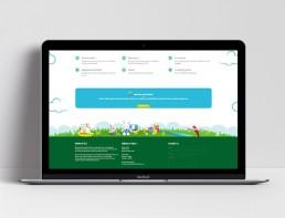 Website Design Bathurst Child Care Home Footer