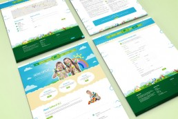 Website Design Bathurst Child Care Layouts