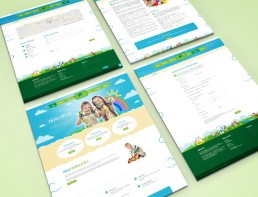 Website Design Bathurst Child Care Layouts
