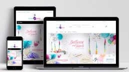 Website Design House of Party Product Home