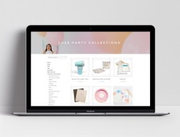 Website Design House of Party Categories