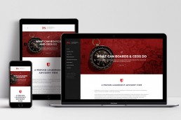 Website Design L&S Advisory Home