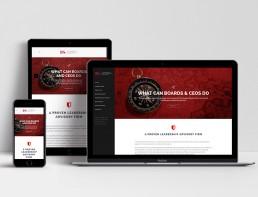 Website Design L&S Advisory Home