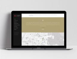 Website Design L&S Advisory Map