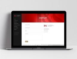 Website Design L&S Advisory Contact