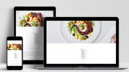 Website Design Nour Restaurant Home