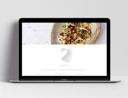 Website Design Nour Restaurant Menu