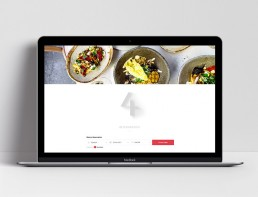 Website Design Nour Restaurant Booking Widget
