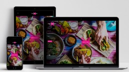 Website Design Thievery Restaurant Home