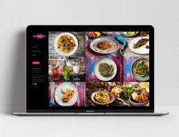 Website Design Thievery Restaurant Gallery