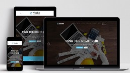 Recruitment Website Design Yorke Consulting