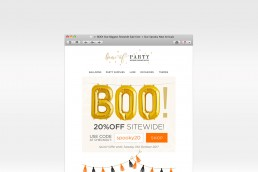 Email Design and Coding eCommerce Halloween