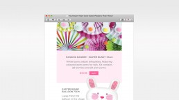 Email Design and Coding eCommerce Easter