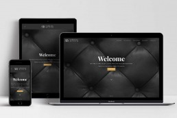 Responsive Wordpress Website Design Sydney Sterling Black