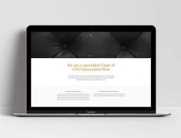 Responsive Wordpress Website Design Sydney Sterling Black