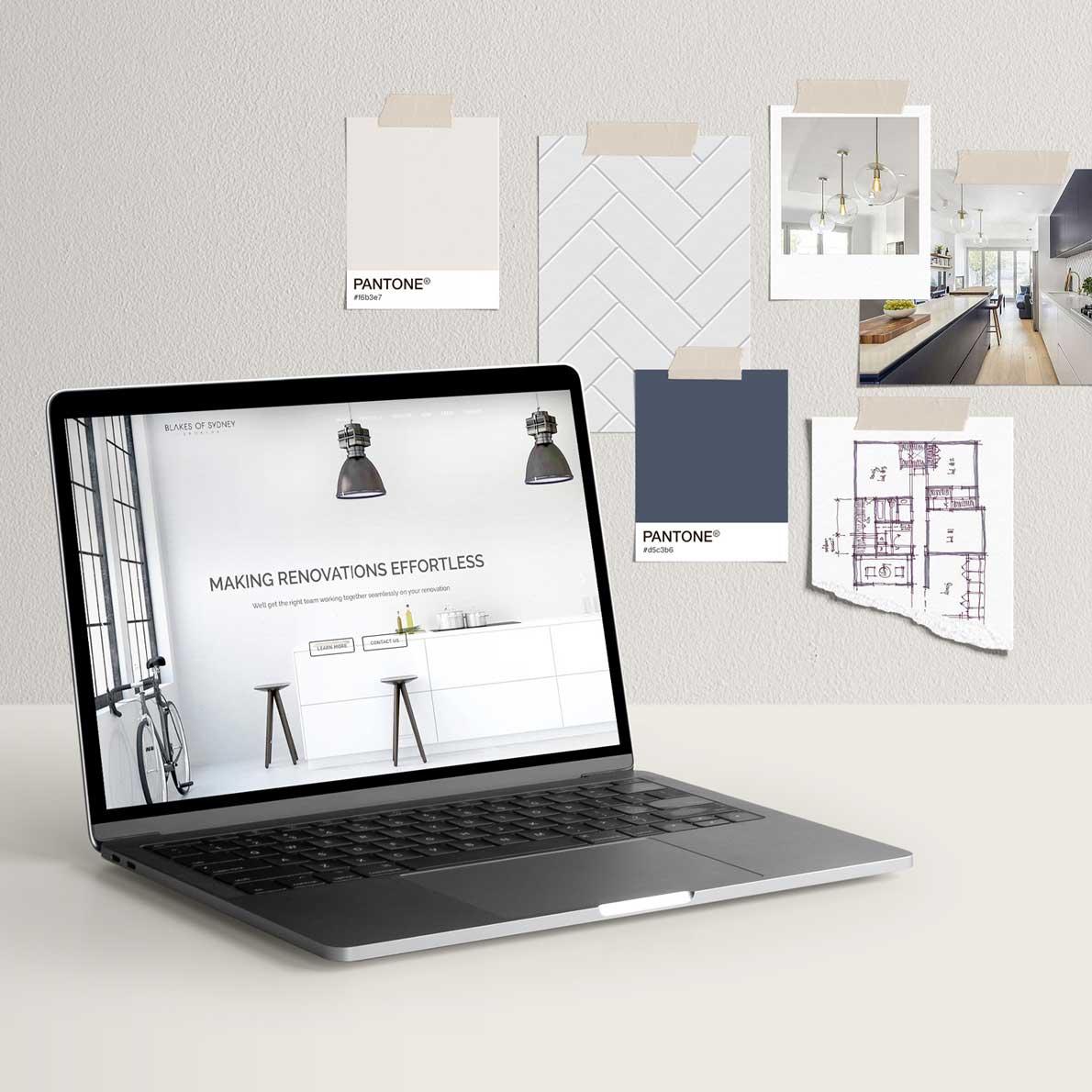 Blakes of Sydney website design by Alphabetsy