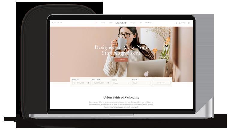 Alphabetsy website design